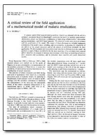 Bulletin of the World Health Organizatio... by J. A. Najera