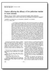 Bulletin of the World Health Organizatio... by I. Domok