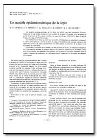 Bulletin of the World Health Organizatio... by M. F. Lechat