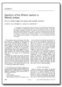 Bulletin of the World Health Organizatio... by J. Convit