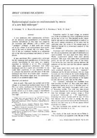 Bulletin of the World Health Organizatio... by P. Scheiber