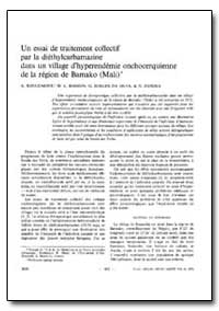 Bulletin of the World Health Organizatio... by A. Rougemont