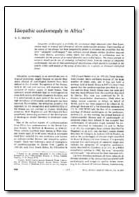 Bulletin of the World Health Organizatio... by A. C. Ikeme