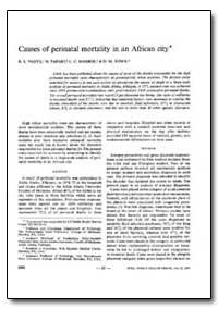 Bulletin of the World Health Organizatio... by R. L. Naeye