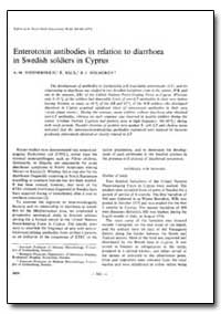 Bulletin of the World Health Organizatio... by A. M. Svennerholm