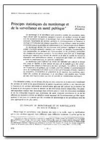Bulletin of the World Health Organizatio... by S. Lwanga (Chairman)