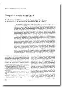 Bulletin of the World Health Organizatio... by R. A. Kantorovic