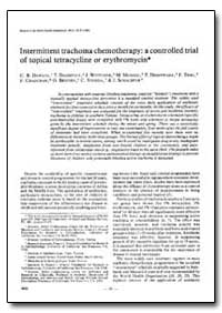 Bulletin of the World Health Organizatio... by C. R. Dawson