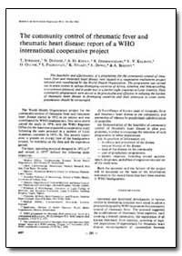 Bulletin of the World Health Organizatio... by T. Strasser