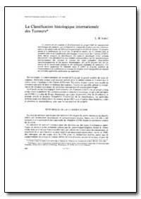 Bulletin of the World Health Organizatio... by L. H. Sobin