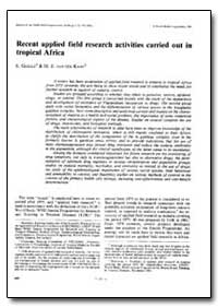 Bulletin of the World Health Organizatio... by S. Goriup