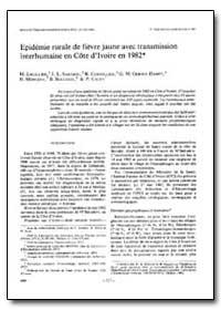 Bulletin of the World Health Organizatio... by M. Lhuillier
