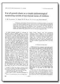 Bulletin of the World Health Organizatio... by T. H Tulchinsky