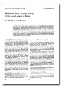 Bulletin of the World Health Organizatio... by B. L. Agarwal