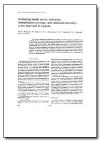 Bulletin of the World Health Organizatio... by M. D. Malison
