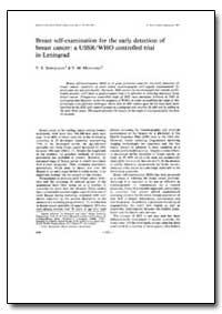 Bulletin of the World Health Organizatio... by V. F. Semiglazov