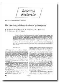 Bulletin of the World Health Organizatio... by A. R. Hinman