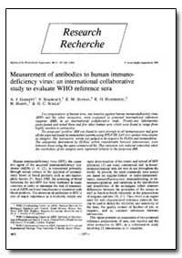 Bulletin of the World Health Organizatio... by A. J. Garrett