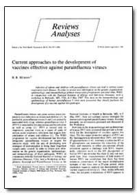 Bulletin of the World Health Organizatio... by B. R. Murphy