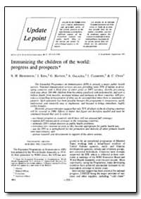 Bulletin of the World Health Organizatio... by R. H. Henderson