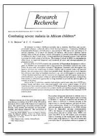 Bulletin of the World Health Organizatio... by J. G. Breman