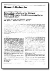 Bulletin of the World Health Organizatio... by T. H. Flewett