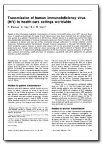 Bulletin of the World Health Organizatio... by R. Marcus