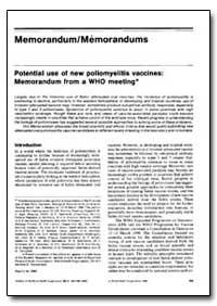 Bulletin of the World Health Organizatio... by S. M Lemon, Dr.