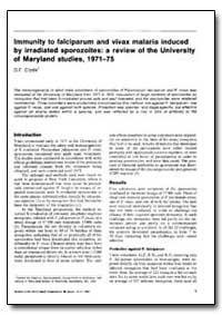 Bulletin of the World Health Organizatio... by D. F. Clyde