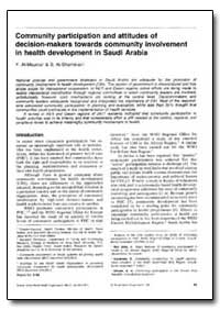 Bulletin of the World Health Organizatio... by Y. Al- Mazroa