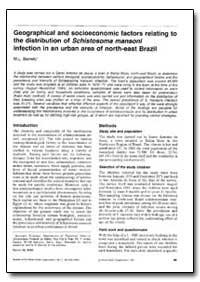 Bulletin of the World Health Organizatio... by M. L. Barreto