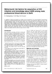 Bulletin of the World Health Organizatio... by D. Chattopadhya