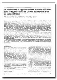 Bulletin of the World Health Organizatio... by P. P. Simarro