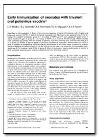 Bulletin of the World Health Organizatio... by L. Y. Weckx