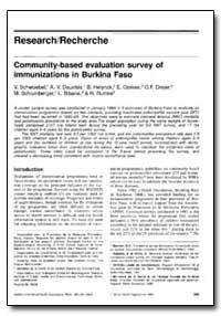 Bulletin of the World Health Organizatio... by V. Schwoebel