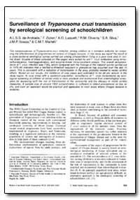 Bulletin of the World Health Organizatio... by F. Zicker