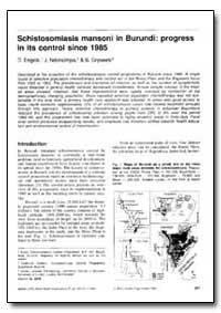 Bulletin of the World Health Organizatio... by D. Engels