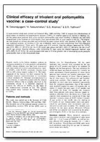 Bulletin of the World Health Organizatio... by N. Deivanayagam