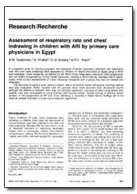 Bulletin of the World Health Organizatio... by A. M. Gadomski