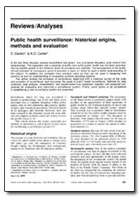 Bulletin of the World Health Organizatio... by S. Declich