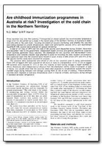 Bulletin of the World Health Organizatio... by N. C. Miller