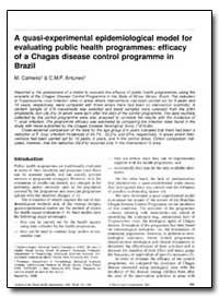 Bulletin of the World Health Organizatio... by M. Carneiro
