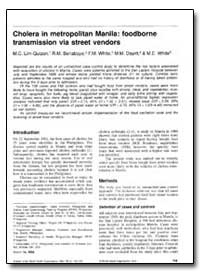Bulletin of the World Health Organizatio... by M. C. Lim-Quizon