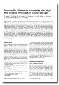Bulletin of the World Health Organizatio... by P. Aa