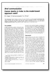 Bulletin of the World Health Organizatio... by P. C. Gupta, Dr.