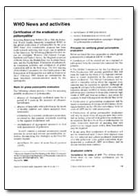 Bulletin of the World Health Organizatio... by World Health Organization