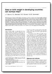 Bulletin of the World Health Organizatio... by J. T. Boerma