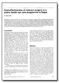 Bulletin of the World Health Organizatio... by E. Maseille