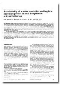 Bulletin of the World Health Organizatio... by B. A. Hoque