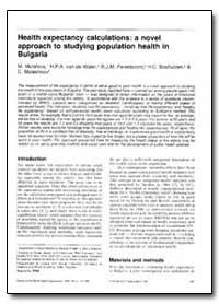 Bulletin of the World Health Organizatio... by M. Mutafova